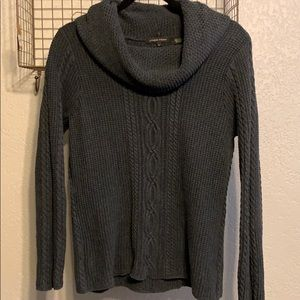 Jeanne Pierre cowl neck sweater size large